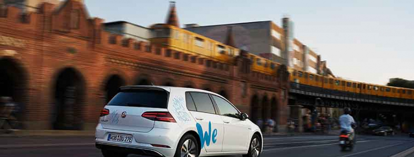 Volkswagen VW e carsharing We Share