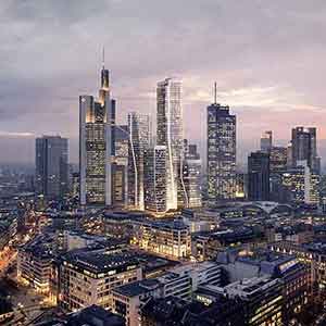 Neues Hyatt House Frankfurt City Goetheplatz im FOUR Frankfurt