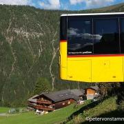 Davos - mit dem Bus nach Monstein