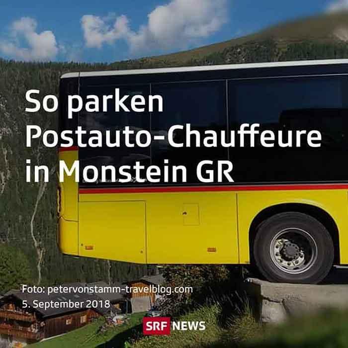 Mit dem Bus nach Monstein