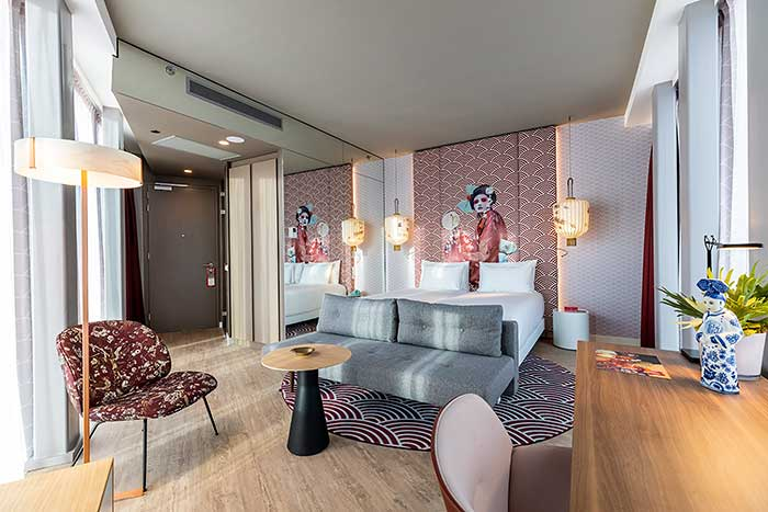 Zimmer im nhow Amsterdam RAI