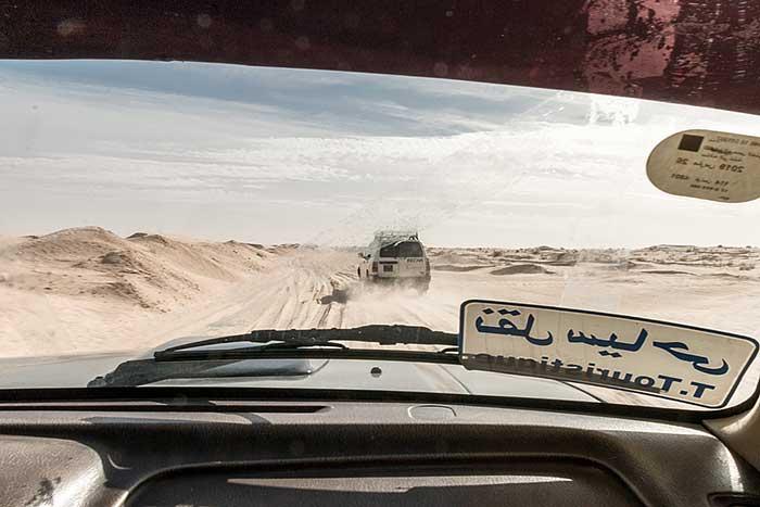 Durch die Sahara in Tunesien