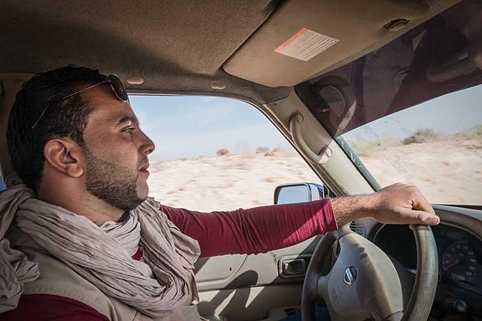 Offroad durch die Sahara in Tunesien