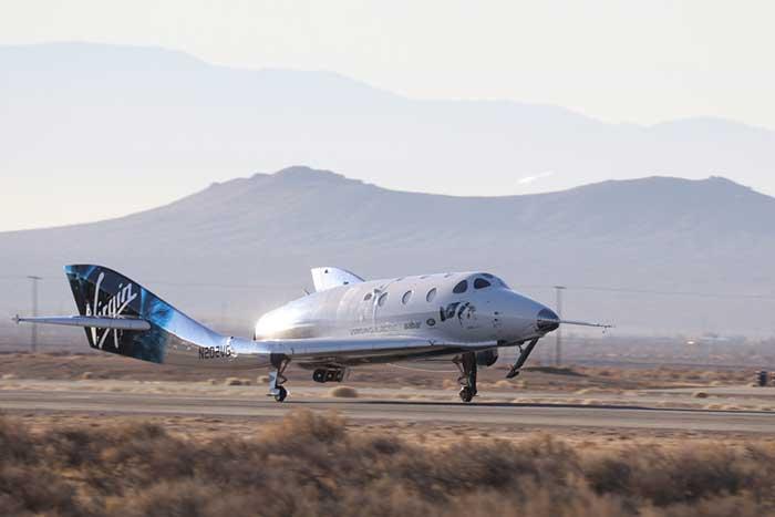 Reisen ins All mit dem SpaceShip Two
