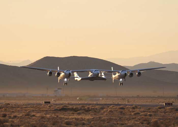 Reisen ins All mit SpaceShip Two