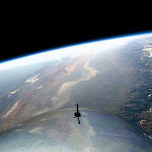 Reisen ins All bald für alle möglich – mit dem SpaceShip Two von Virgin Galactic