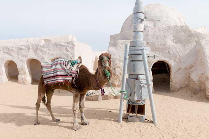 Starwars Drehort Mos Espa in Tunesien