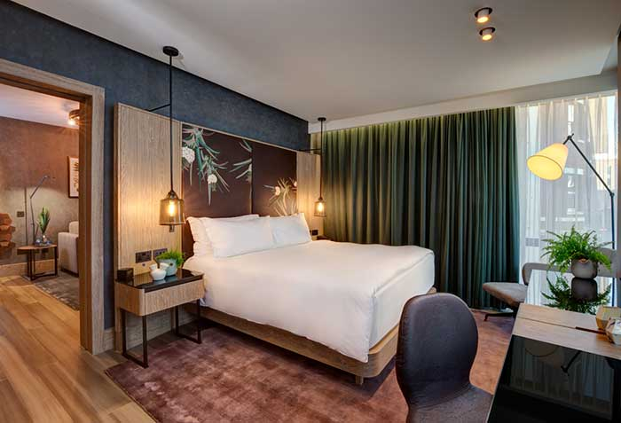 Vegane Suite im Hilton London Bankside Hotel