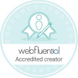 Webfluential Button