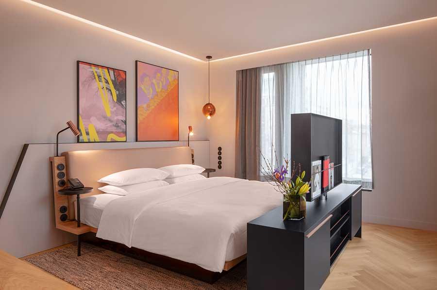 Andaz by hyatt neues 5 sterne design hotel in m nchen for Design hotel 5 sterne