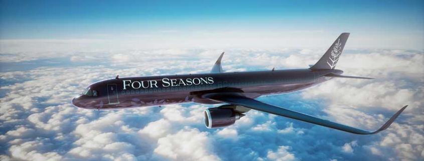 Four Seasons Privatjet Private Jet