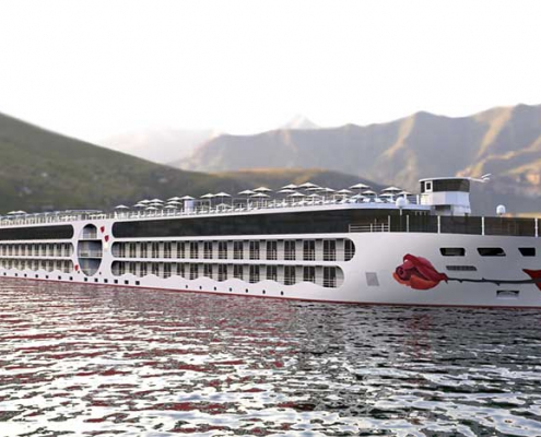 Flussschiff A-ROSA E-Motion Ship 2021