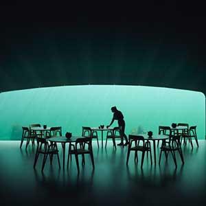 """""""Under"""" - Europas erstes Unterwasserrestaurant"""