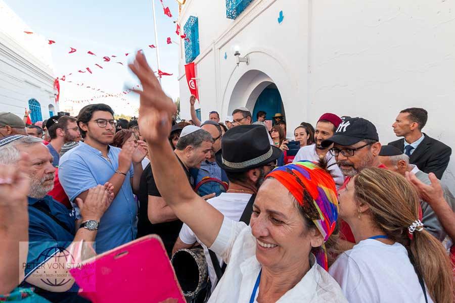 Shalom und Salem von der La Ghriba Wallfahrt auf Djerba