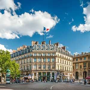 Frisch eröffnet: Das Hotel du Louvre in Paris