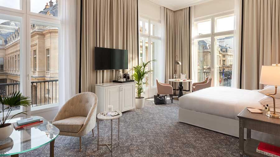 Frisch eröffnet: Das Hotel du Louvre in Paris - Peter von Stamm