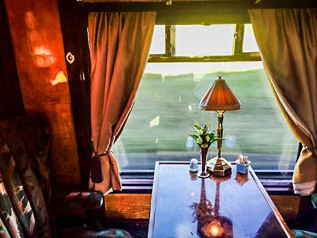 Orient Express - inside the train