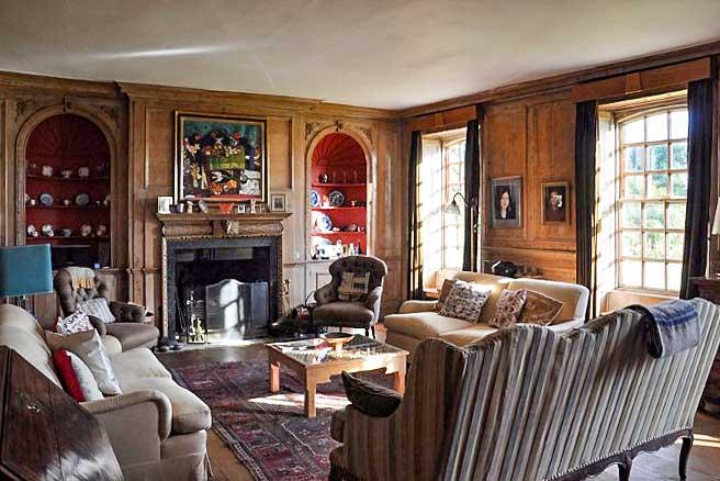 Eggington House lounge