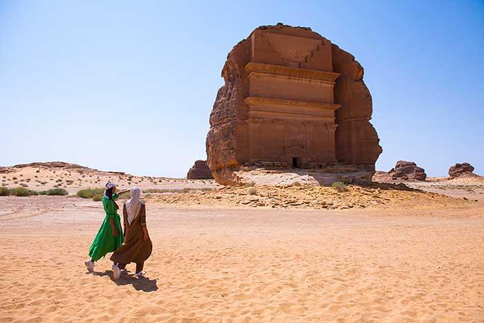 Madain Saleh in Saudi Arabien