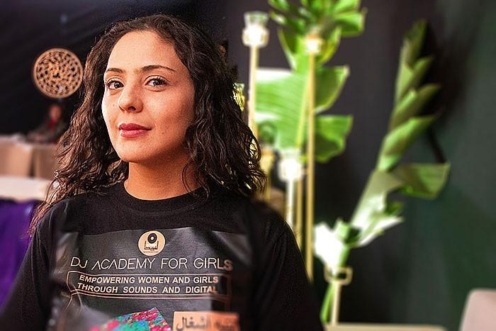 Olfa Arfaoui von der DJ Academy for Girls