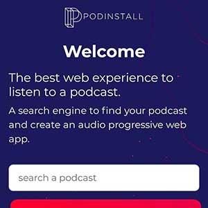 Podinstall will Podcasts Hören einfacher machen