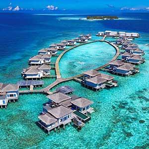 Malediven Trauminsel - 1 Mio US-Dollar für 4 Nächte!