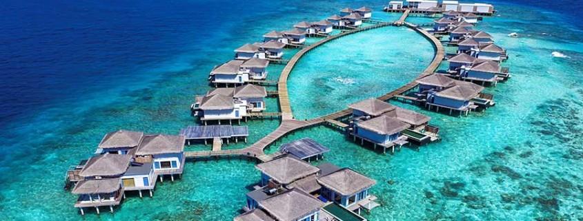 Malediven Inselgruppe Raffles
