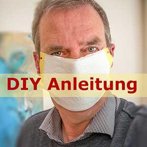 Mundschutz selber machen - DIY Anleitung für eine Maske