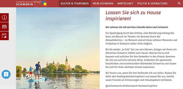 Schwerin inspiriert Kampagne