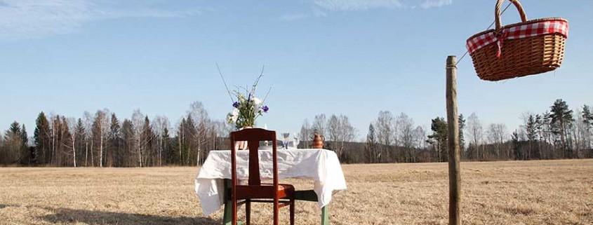Tisch für einen in Schweden