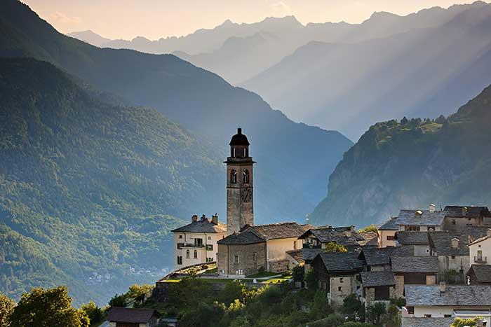 Soglio in Graubünden