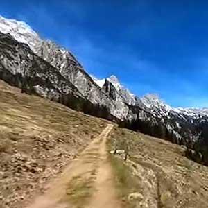 Schöne Wanderwege in Österreich - 360-Grad-Videos aus Saalfelden Leogang