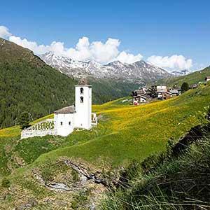3 abgelegene Täler in Graubünden