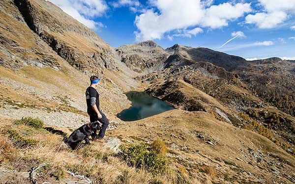 Bergsee im Val Calanca