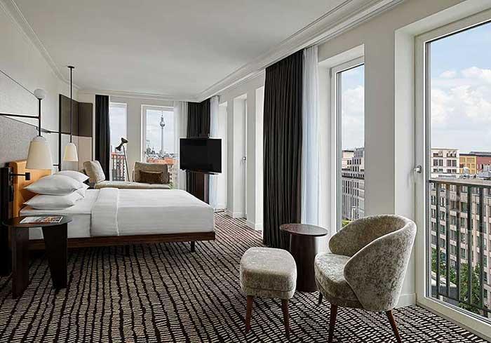 Zimmer im Berlin Marriott Hotel