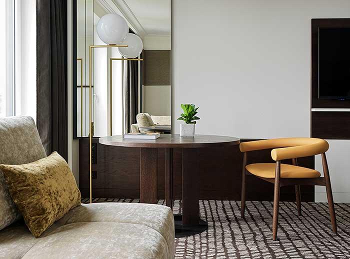 Superior Zimmer im Marriott Hotel Berlin