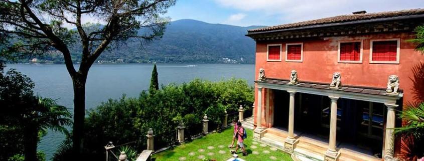 Morcote am Luganosee