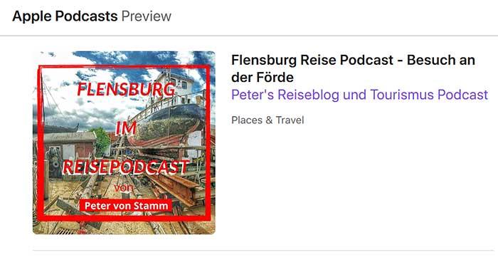 Flensburg Podcast Apple iTunes